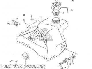 Suzuki RM80 1999 (X) USA (E03) parts lists and schematics