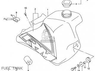 Suzuki Rm80 2000 (y) Usa (e03) parts list partsmanual