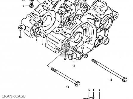 Suzuki RM80H 1985 (F) parts lists and schematics