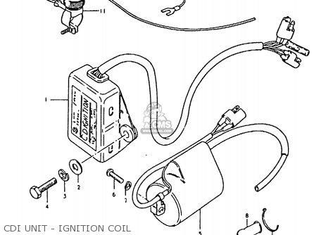 Suzuki Rm80x 1980 (t) parts list partsmanual partsfiche