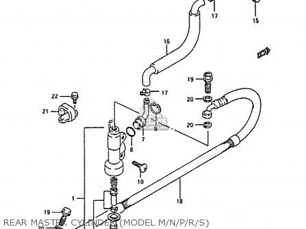 Suzuki RM80X 1987 (H) parts lists and schematics