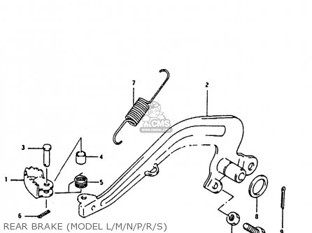 Suzuki Rm80x 1988 (j) parts list partsmanual partsfiche