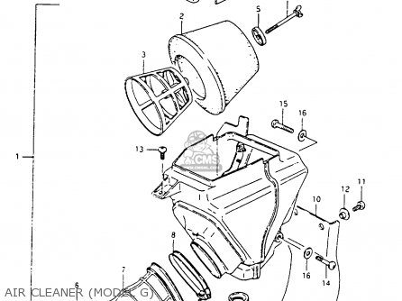 Suzuki Rm80x 1991 (m) parts list partsmanual partsfiche