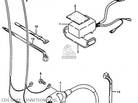 Suzuki Rm80x 1991 (m) parts list partsmanual partsfiche