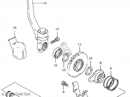 Suzuki RM80X 1997 (V) (E02 E04 E24) parts lists and schematics