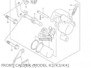 Suzuki RM85 2006 (K6) USA (E03) parts lists and schematics