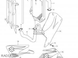 Suzuki RM85 2007 (K7) USA (E03) parts lists and schematics