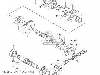 Suzuki Rm85 2007 (k7) Usa (e03) parts list partsmanual
