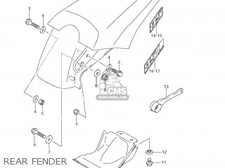 Suzuki RM85 2008 (K8) USA (E03) parts lists and schematics