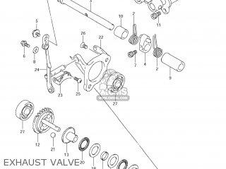 Suzuki RM85 2009 (K9) USA (E03) parts lists and schematics