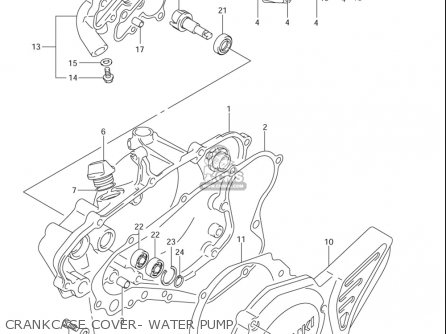 Suzuki Rm85 ,l 2002-2005 (usa) parts list partsmanual