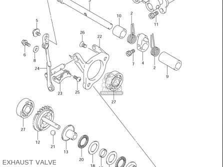 Suzuki Rm85 ,l (usa) parts list partsmanual partsfiche