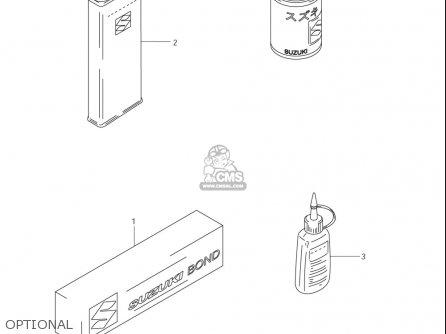 Suzuki Rm85 ,l (usa) parts list partsmanual partsfiche