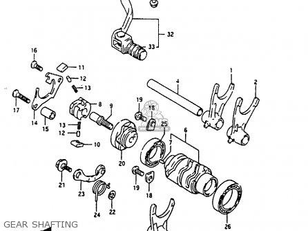 Suzuki RMX250 1989 (K) GENERAL (E01) parts lists and