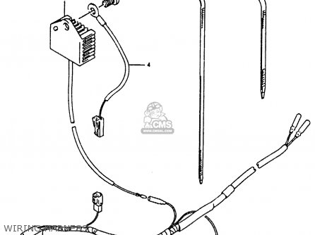 Suzuki RMX250 1990 (L) GENERAL (E01) parts lists and