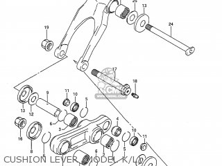 Suzuki RMX250 1991 (M) USA (E03) parts lists and schematics