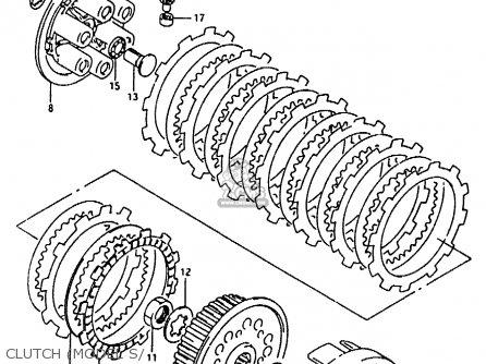 Suzuki Rmx250 1992 (n) parts list partsmanual partsfiche