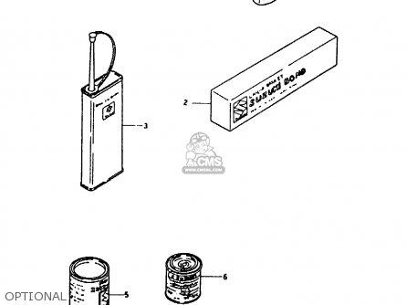 Suzuki RMX250 1992 (N) GENERAL (E01) parts lists and