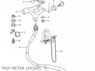 Suzuki RMX250 1995 (S) USA (E03) parts lists and schematics