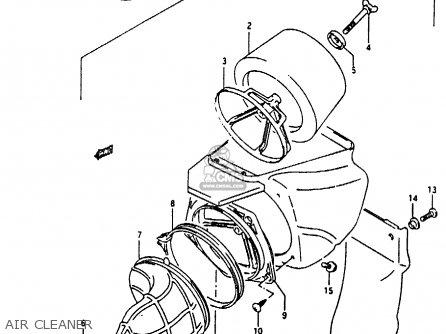 Suzuki RMX250 1996 (T) GENEREAL (E01) parts lists and