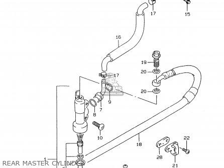 Suzuki RMX250 1997 (V) GENERAL (E01) parts lists and