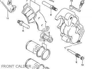 Suzuki RMX250 1997 (V) USA (E03) parts lists and schematics