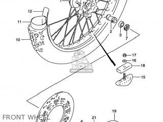 Suzuki Rmx250 1997 (v) Usa (e03) parts list partsmanual