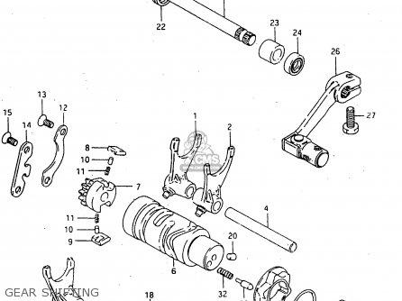 Suzuki Rmx50 1996 (t) parts list partsmanual partsfiche