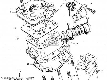 Suzuki RMX50 1997 (V) FRANCE PORTUGAL SPAIN (E04 E29 E53