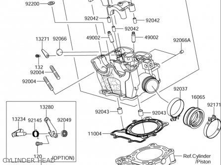 Suzuki Rmz250 (usa) parts list partsmanual partsfiche