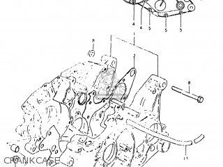 Suzuki Rs175 1980 (t) Usa (e03) parts list partsmanual