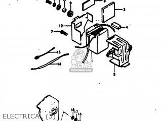 Suzuki Rv125 1973 (k) Usa (e03) parts list partsmanual