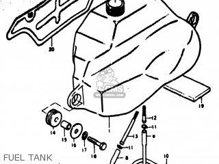 Suzuki RV125 1973 (K) USA (E03) parts lists and schematics