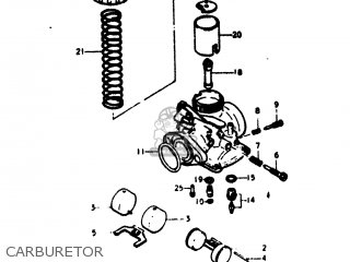 Suzuki Rv125 1974 (l) Usa (e03) parts list partsmanual