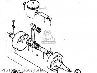 Suzuki RV125 1974 (L) USA (E03) parts lists and schematics
