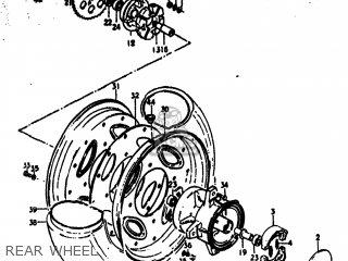 Suzuki Rv125 1974 (l) Usa (e03) parts list partsmanual