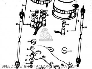 Suzuki RV125 1974 (L) USA (E03) parts lists and schematics