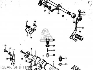 Suzuki RV125 1976 (A) USA (E03) parts lists and schematics