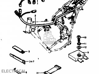 Suzuki RV125 1977 (B) USA (E03) parts lists and schematics