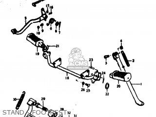 Suzuki Rv125 1977 (b) Usa (e03) parts list partsmanual