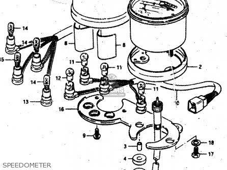 Suzuki Rv50 1983 (d) (e01) parts list partsmanual partsfiche