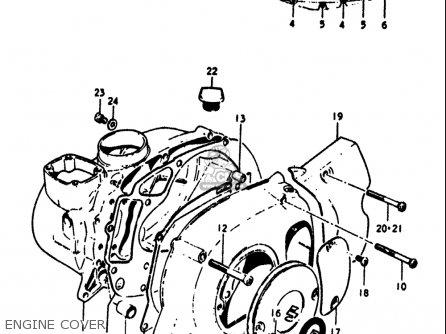 Suzuki Rv90 1972 (j) Usa (e03) parts list partsmanual