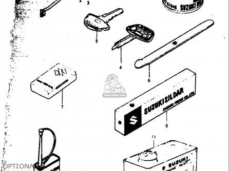 Suzuki Rv90 1973-1977 (usa) parts list partsmanual partsfiche