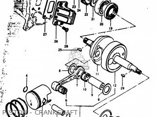 Suzuki Rv90 1973 (k) Usa (e03) parts list partsmanual