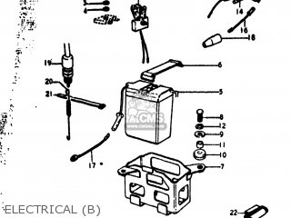 Suzuki RV90 1974 (L) USA (E03) parts lists and schematics