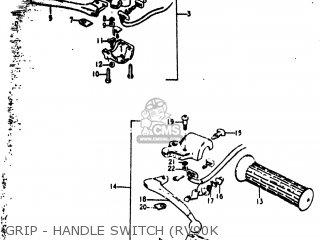 Suzuki RV90 1977 (B) USA (E03) parts lists and schematics