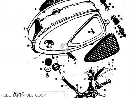 Suzuki S32 1968 USA (E03) parts lists and schematics