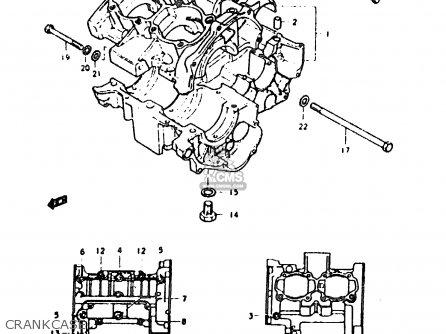 Suzuki Sb200 1979 (n) parts list partsmanual partsfiche