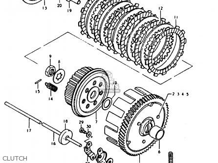 Suzuki Sb200 1979 (n) (e02) parts list partsmanual partsfiche