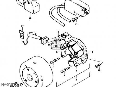 Suzuki SB200 1979 (N) (E02) parts lists and schematics